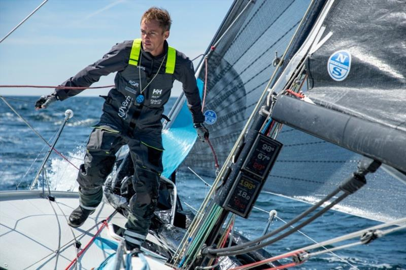 Thomas Ruyant - 50th Solitaire Urgo Le Figaro - photo © La Solitaire 2019