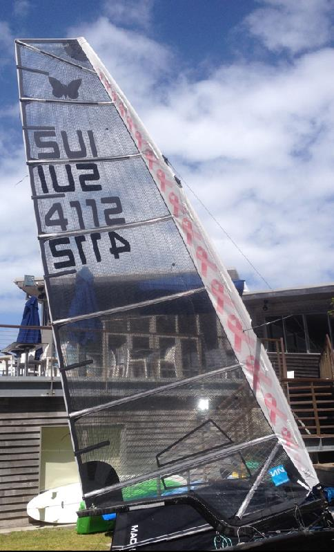 Non standard Lennon Moth Sail - photo © Lennon Sails