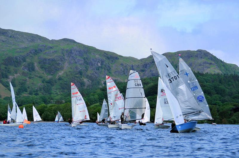 Lennon Racewear Coniston Sailing Club Dinghy Regatta - photo © Rob Swyer