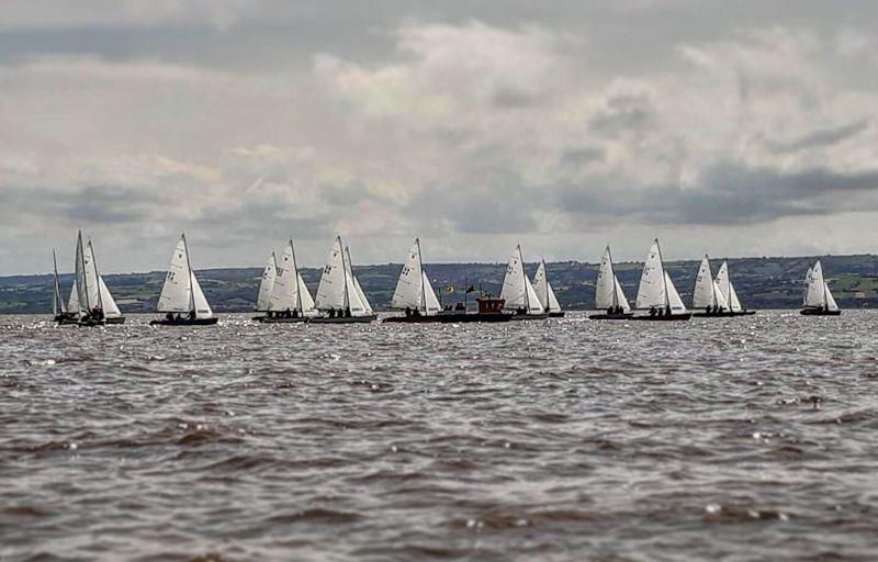 A tidal start for the Falcons during the West Kirby/Dee Sailing Club Regatta - photo © Emma Blake
