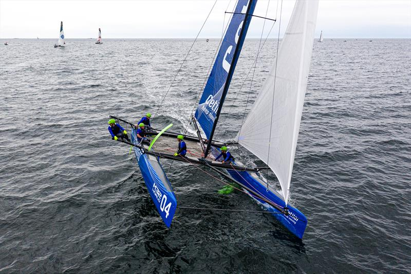 Andrea Lacorte's Vitamina Velocce Cetilar won today's second race. - Day 2 - M32 European Series Marstrand 2019 - photo © Drew Malcolm
