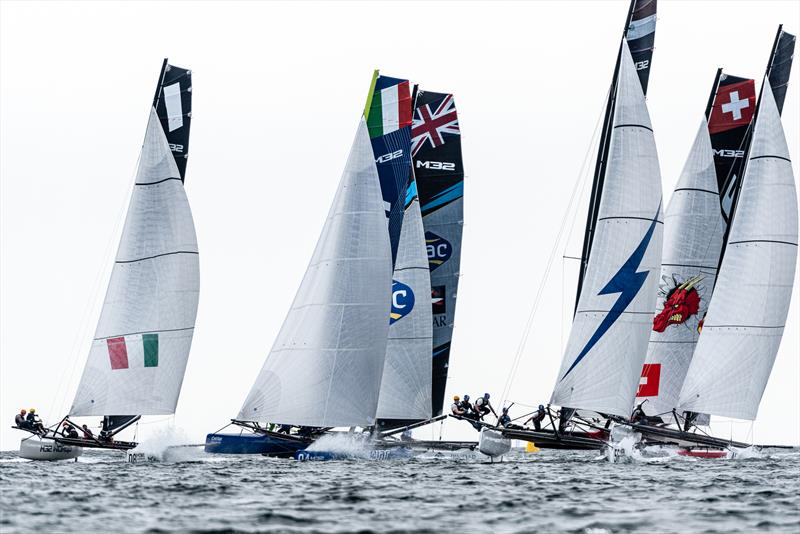 Bliksem out of the blocks fastest again. - Day 2 - M32 European Series Marstrand 2019 - photo © Drew Malcolm
