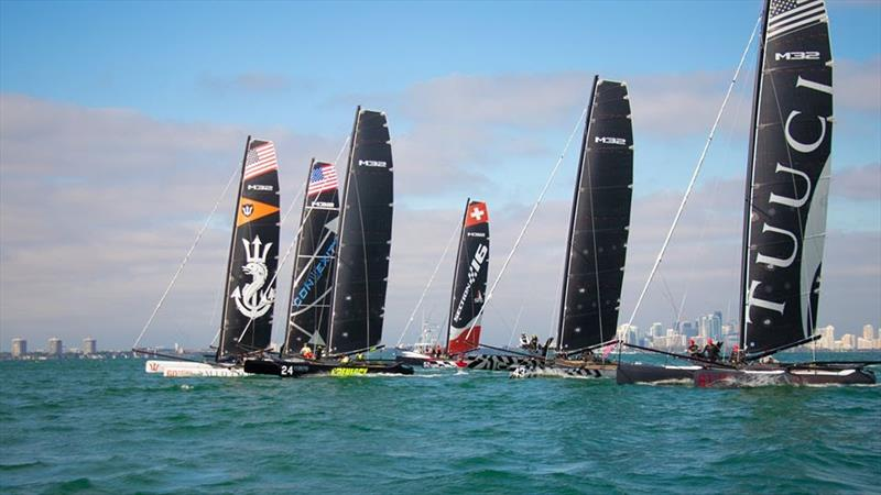 M32 Miami Winter Series  - photo © M32 International Class Association