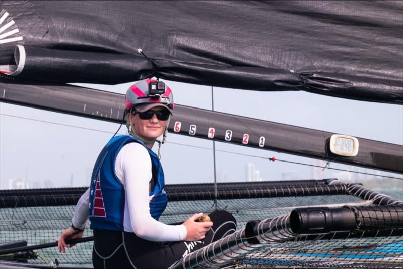 Carina Becker - Team Young American M32 - photo © M32 Class