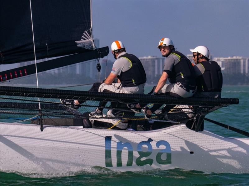 Team Inga from Sweden - photo © M32 Class