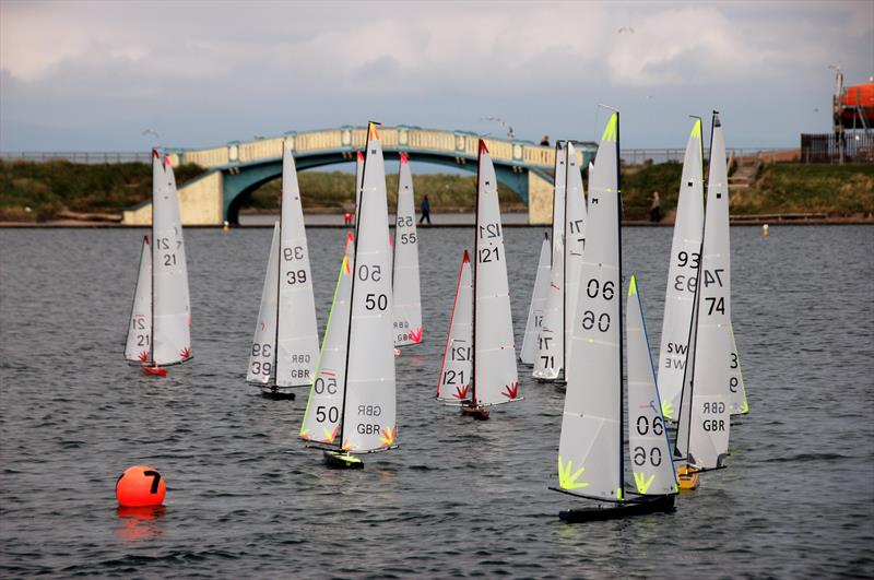 UK Marblehead Class Nationals at Fleetwood - photo © Roger Stollery