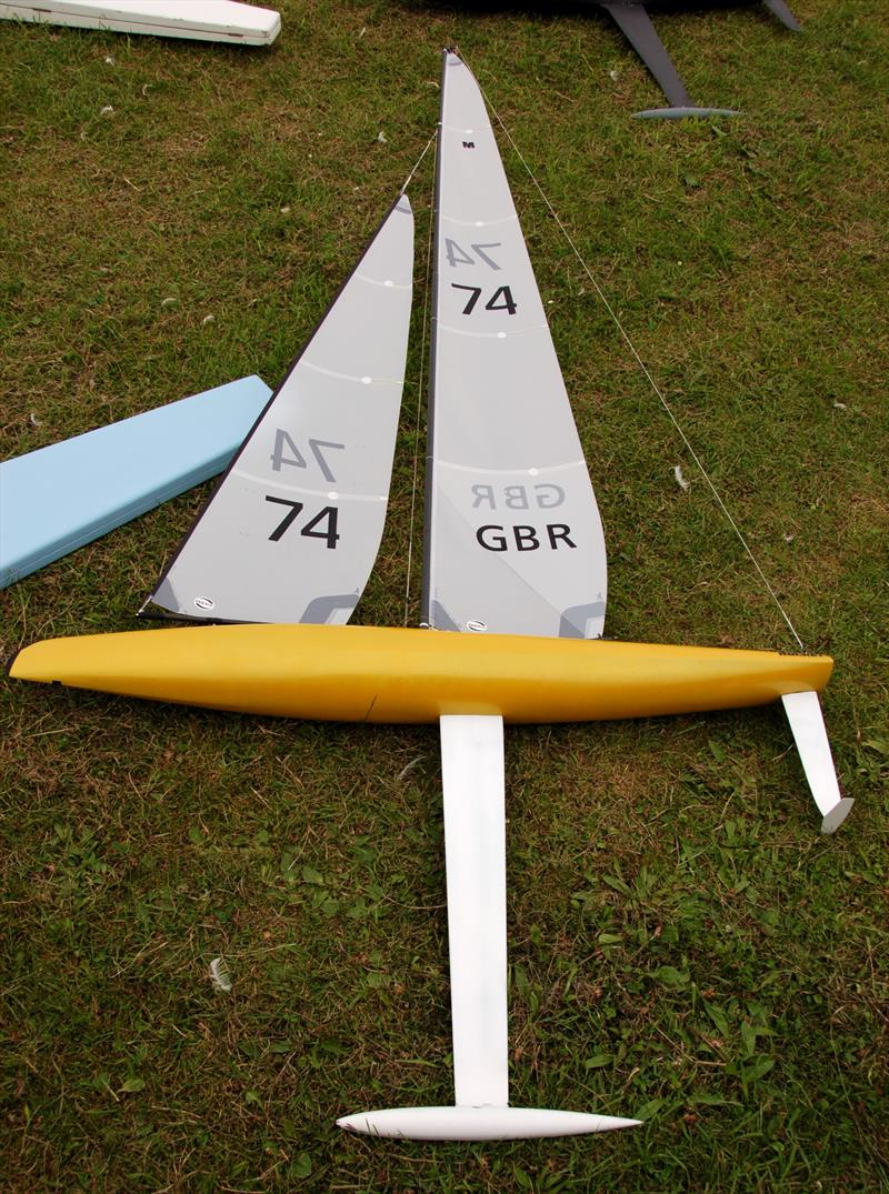 Mike Cook's interesting ROCKET design with a T foil on his rudder - photo © Roger Stollery