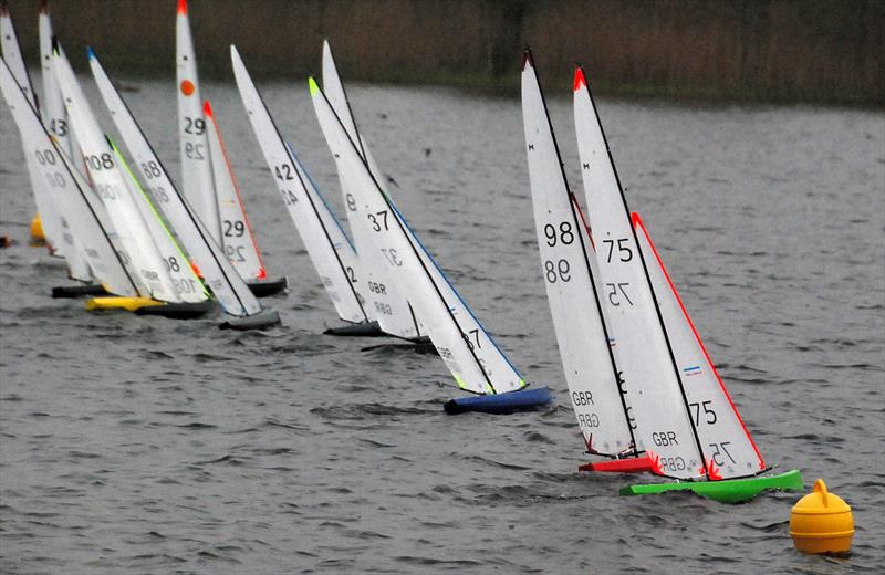 UK Marblehead 2018 Ranking Event 2 at Norwich photo copyright Roger Stollery taken at Norwich Model Yacht Club and featuring the Marblehead class