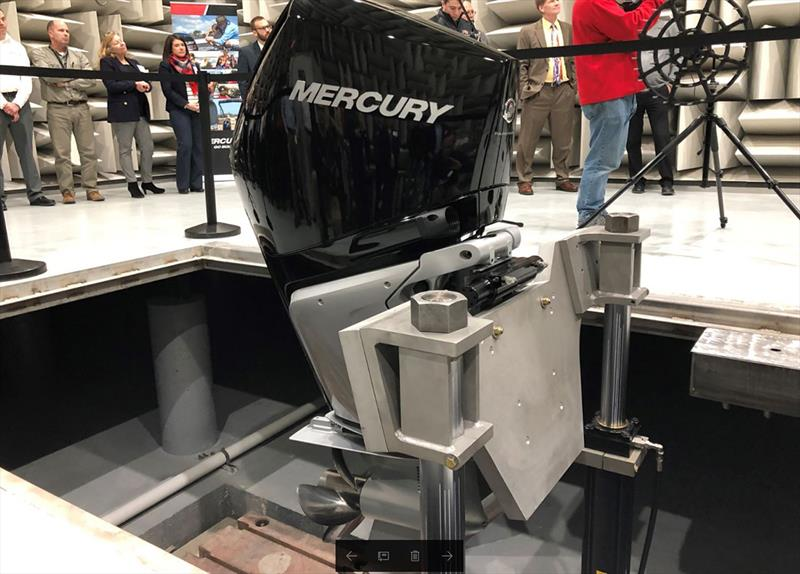 Mercury Marine NVH Technical Center photo copyright Lee Gordon taken at  and featuring the Marine Industry class