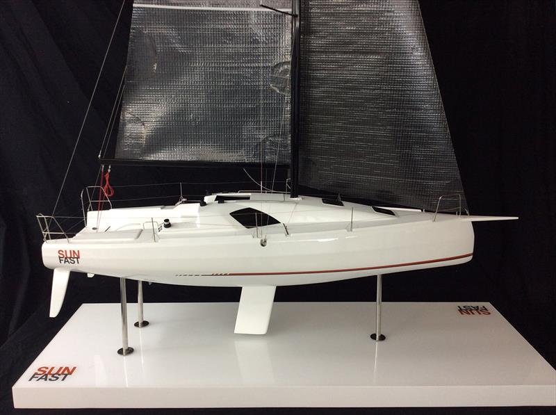 Sun Fast 3300 model from launch announcement - photo © Jeanneau