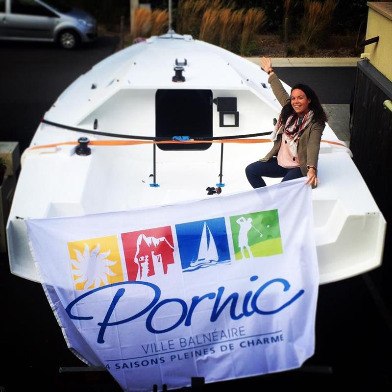 Marie Gendron, French Mini Transat Engineer & Sailo - photo © Marie Gendron