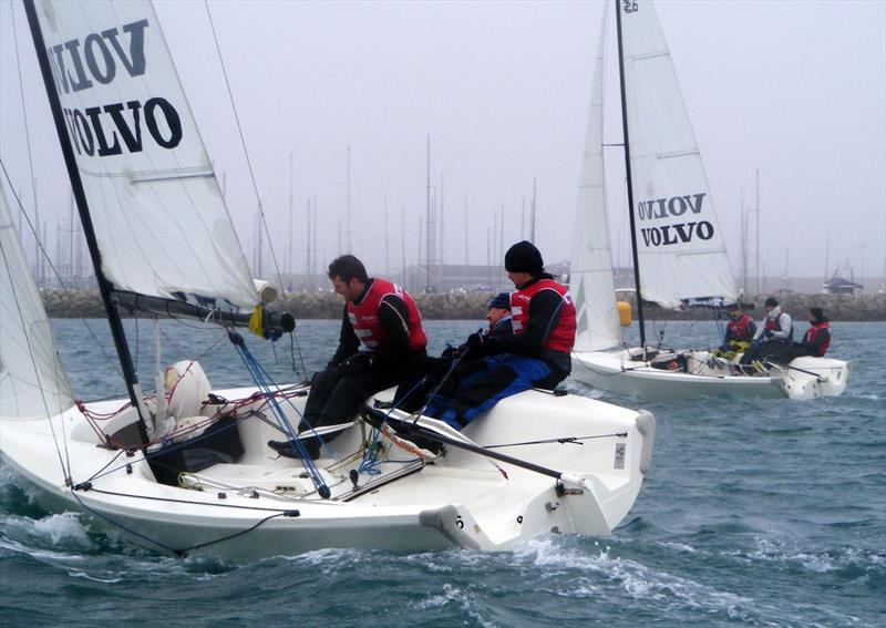 Winter Match Racing Series Round 1 at the WPNSA - photo © RYA