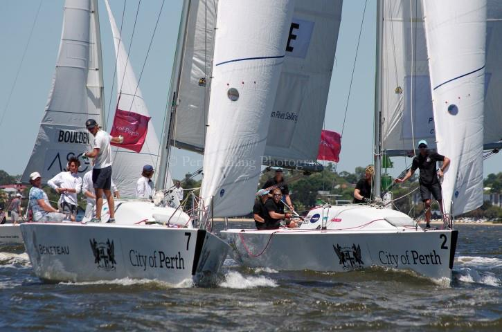 City of Perth Festival of Sail - The Warren Jones International Youth Regatta - Day 2 - photo © Rick Steuart / Perth Sailing Photography