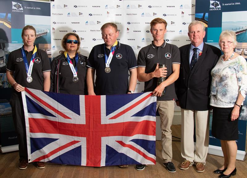 Blind Match Racing Worlds prizewinners photo copyright Neill Ross / www.neillrossphoto.co.uk taken at Royal Northern & Clyde Yacht Club and featuring the Match Racing class