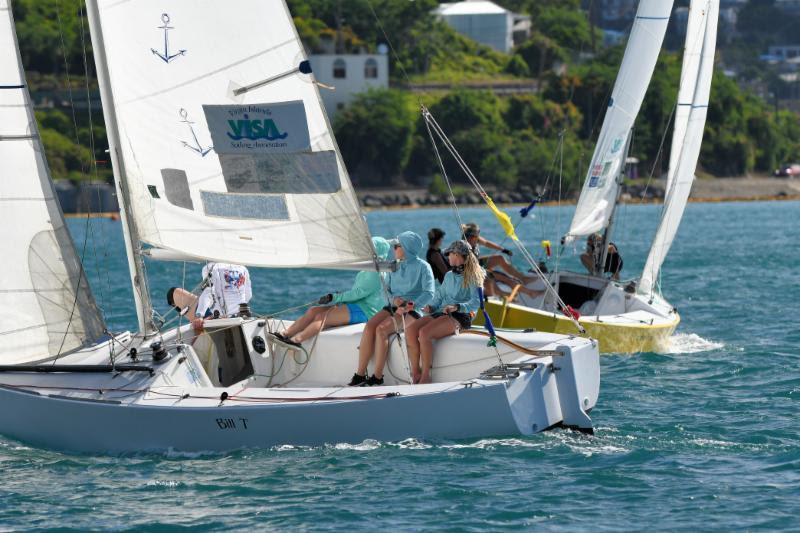 2018 WIM Series Finale at Carlos Aguilar Match Race - Day 2 - photo © Dean Barnes