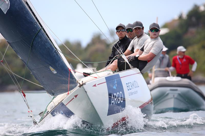 Australian skipper Torvar Mirsky and crew placed second in the round robin and advanced to the quarterfinal round - Argo Group Gold Cup - photo © Charles Anderson