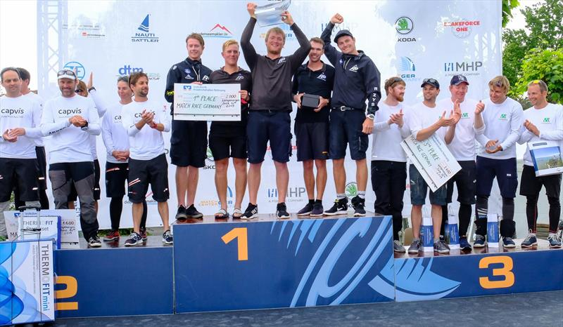 New Zealand's Knots Racing Team win the 22nd Match Race Germany - photo © Andy Heinrich