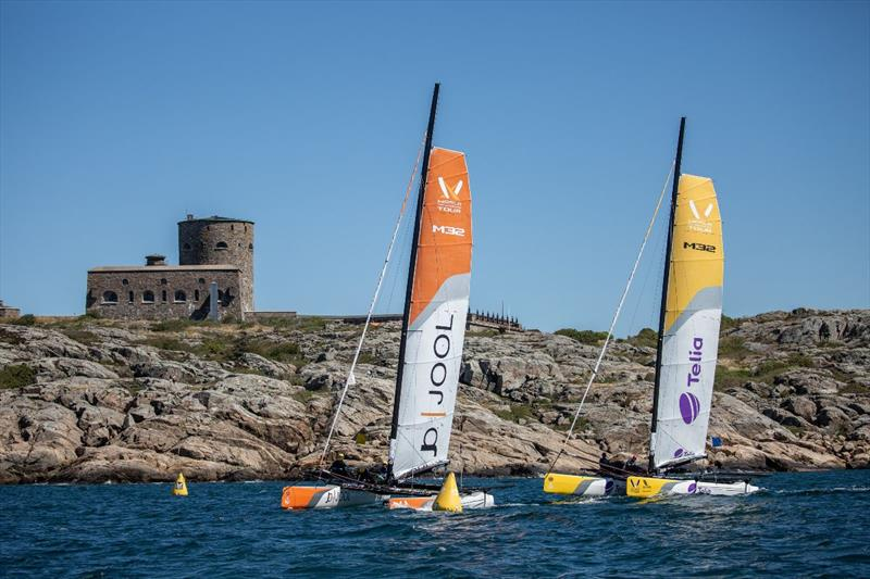 Repechage on day 2 of the World Match Racing Tour Championship Final at Marstrand - photo © Patrick Malmer