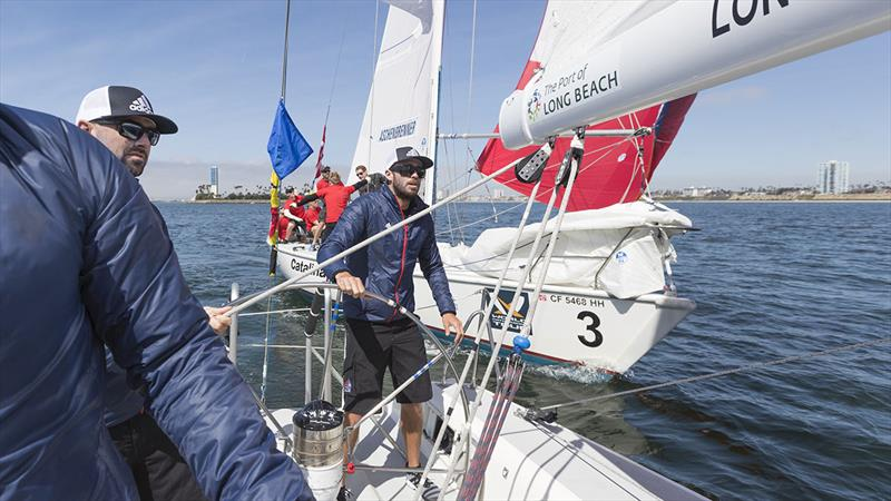 Stars   Stripes Helmsman Taylor Canfield (USA) - World Match Racing Tour, Congressional Cup - photo © Ian Roman