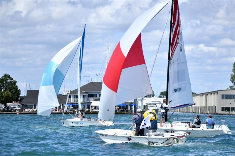 International Match Race for the Detroit Cup - photo © Martin Chumiecki Element Inc