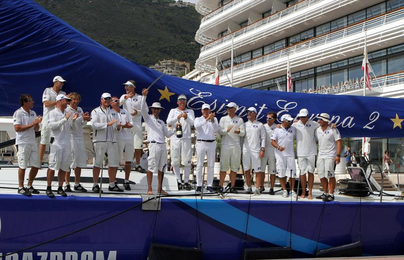 Esimit Europa 2 sets a new record in the Palermo-Montecarlo race - photo © Carloni