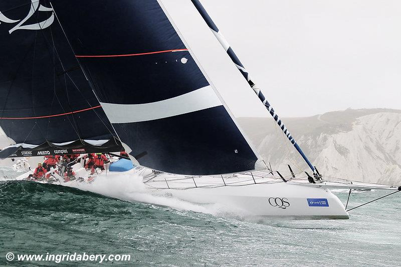 CQS sails round the Isle of Wight at Lendy Cowes Week - photo © Ingrid Abery / www.ingridabery.com
