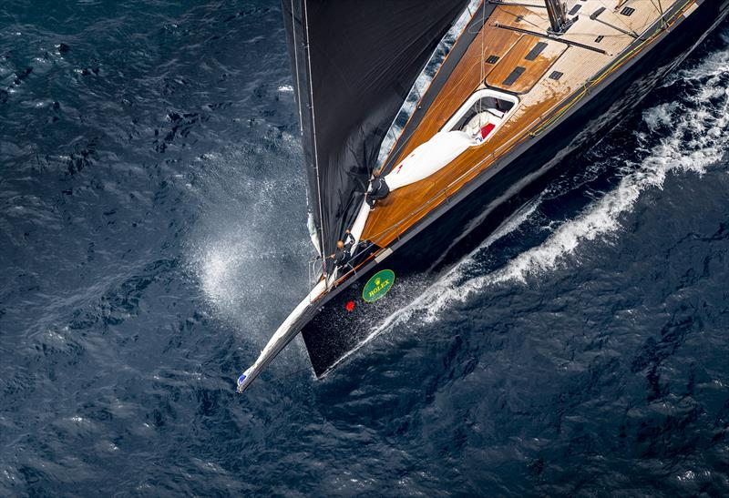 The Rolex Girgaglia fleet depart from Saint-Tropez - photo © Rolex / Kurt Arrigo