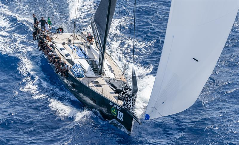 Aldo Parisotto's Mylius 65 FD Oscar 3 claimed the win on day 3 of the Maxi Yacht Rolex Cup - photo © Rolex / Studio Borlenghi