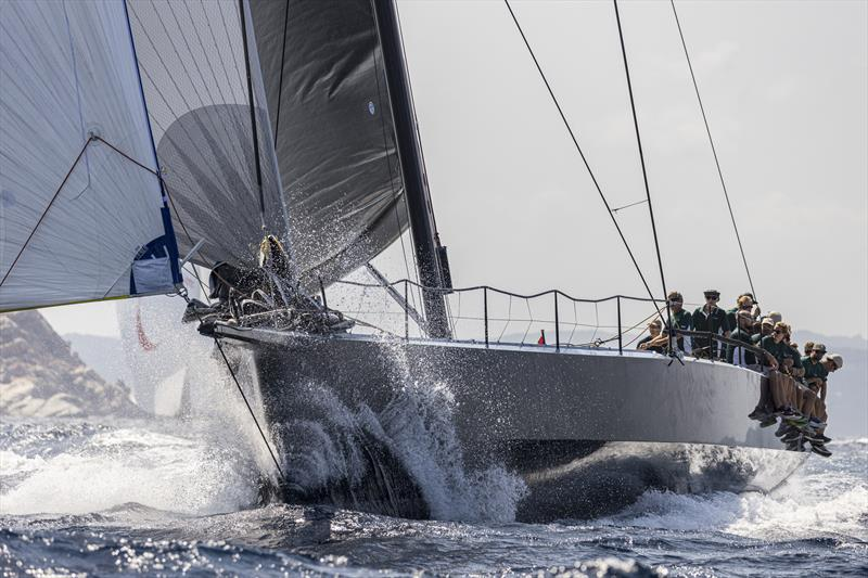 Irvine Laidlaw's Highland Fling XI relished the big downwind sleighride on day 1 of the Maxi Yacht Rolex Cup - photo © Studio Borlenghi / International Maxi Association