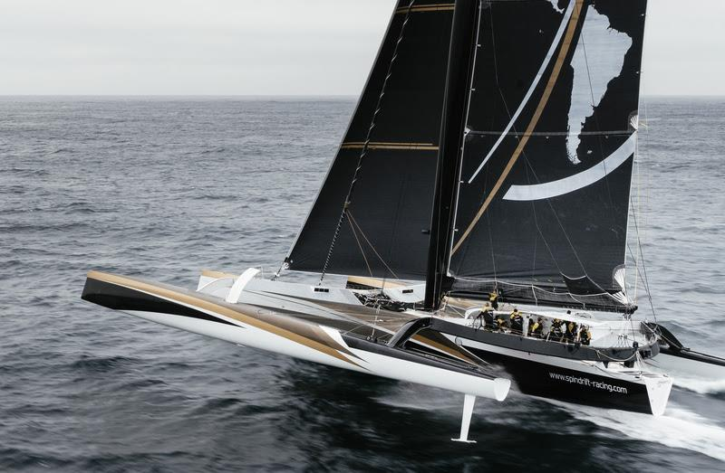 Spindrift 2 in action - photo © Chris Schmid / Spindrift racing