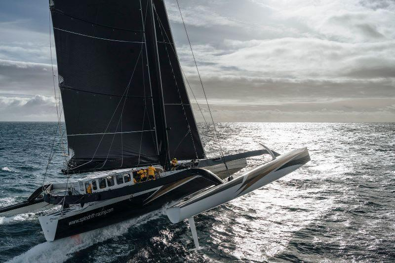 Spindrift 2 challenging for the Jules Verne Trophy - photo © Chris Schmid / Spindrift Racing