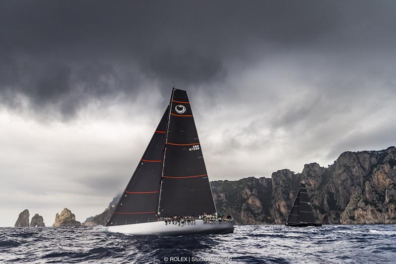 Two second win secures Caol Ila R Rolex Capri Sailing Week title