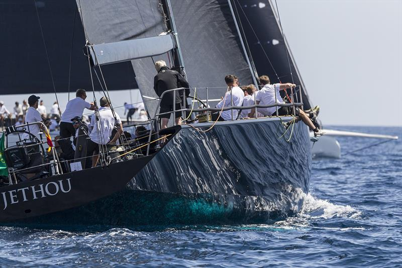 Sir Peter Ogden's Jethou had to recover from a slow start in today's coastal race.  - photo © IMA / Studio Borlenghi