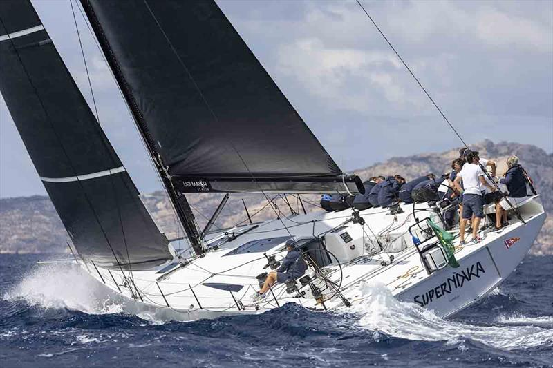 Roberto Lacorte's SuperNikka was the stand-out winner in Mini Maxi Racer 2. Lacorte also received the prize for being top-placed International Maxi Association member - 2019 Maxi Yacht Rolex Cup - photo © Studio Borlenghi / International Maxi Association
