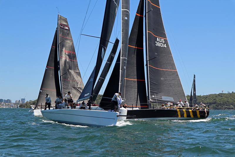 Busy top mark 2019 McConaghy 38 CYCA Regatta - Act 1 - photo © Lisa Ratcliff