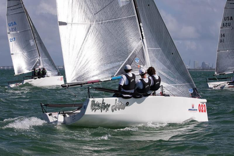 2017-18 Melges 20 Miami Winter Series - Achille Onorato, MASCALZONE LATINO, JR. - photo © International Melges 20 Class Association