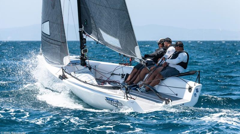 2019 Melges 20 World League - European Division photo copyright Melges World League / Barracuda Communication taken at  and featuring the Melges 20 class