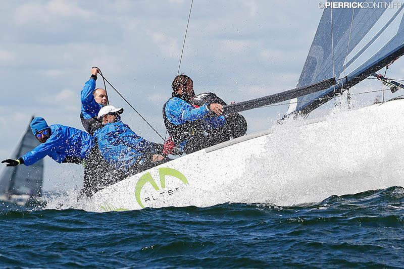 Andrea Racchelli's Altea ITA722 tooks another bullet on day 4 of the Melges 24 Worlds in Heksinki - photo © Pierrick Contin / www.pierrickcontin.com