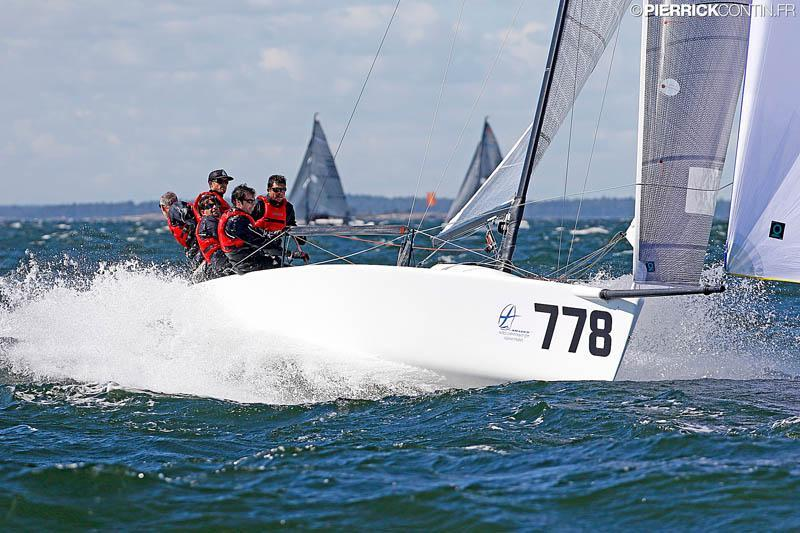Reigning Corinthian World Champions aboard of Marco Zammarchi's Taki 4 ITA778 on day 4 of the Melges 24 Worlds in Heksinki - photo © Pierrick Contin / www.pierrickcontin.com