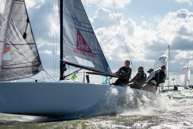 Eelco Blok's Team Kesbeke / Sika / Gill during the Melges 24 European Sailing Series Medemblik - photo © Klaas Wiersma