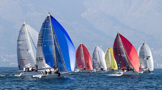 Miles Quinton's GILL RACE TEAM on day 2 of the Melges 24 Lino Favini Cup - photo © IM24CA / ZGN