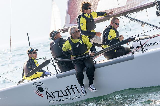 MAIDOLLIS on day 2 of the Melges 24 Lino Favini Cup - photo © IM24CA / ZGN