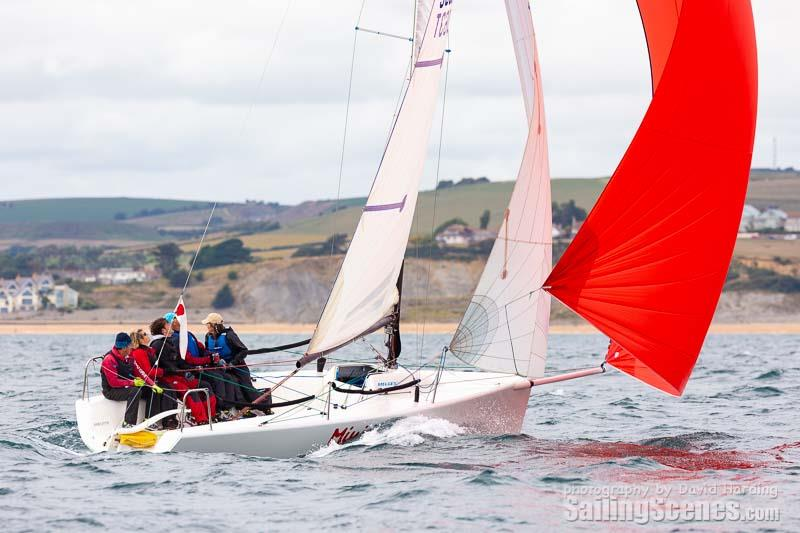 Mini Mayhem during the WhyBoats Weymouth Yacht Regatta 2018 - photo © David Harding / www.sailingscenes.com