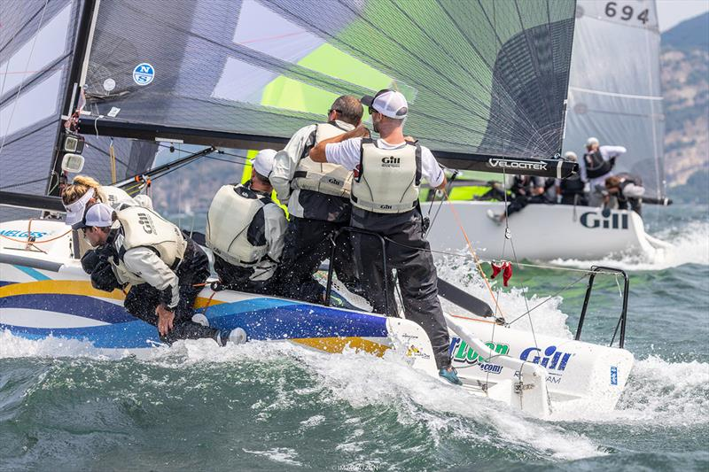 Another American entry, Travis Weisleder's Lucky Dog / Gill Race Team USA841 with Mike Buckley calling the tactics, finished the regatta on 5th position.  - photo © ZGN / IM24CA
