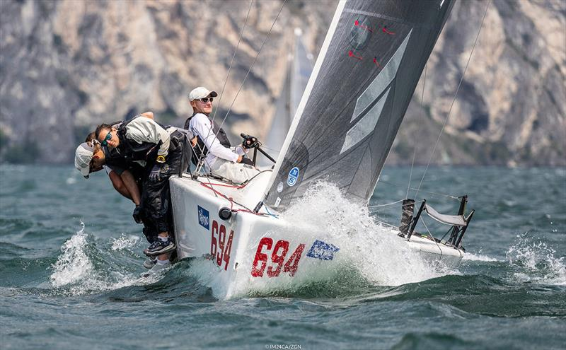 Top 6 was closed by Miles Quinton's Gill Race Team GBR694 (5-15-8) with Geoff Carveth helming, completing the Corinthian podium as third. - photo © ZGN / IM24CA