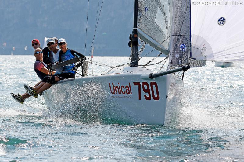 The Estonian Lenny (EST790, 6-11-4) of the Tõniste twins, whose scoreline is improving day by day, is currently on the 8th position being the second best Corinthian after reigning World Champion Taki 4 ITA778 - Melges 24 European Championship 2018 - photo © Pierrick Contin