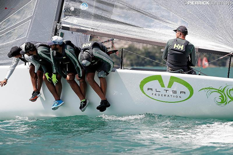 The ranking of the Italian Melges 24 Tour (after four regattas) sees reigning Melges 24 World Champion Andrea Racchelli's Altea in a lead. photo copyright Pierrick Contin taken at  and featuring the Melges 24 class