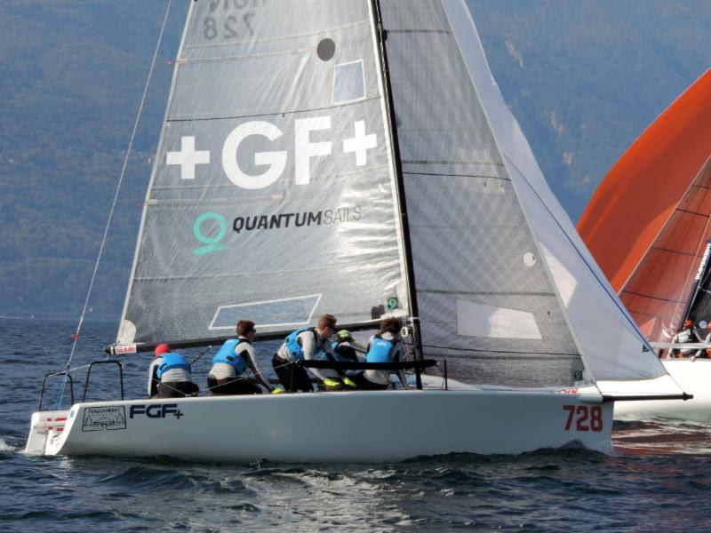 Past year's winner, Robert Bakoczy's FGF Sailing Team HUN728 was second in today's last race photo copyright Piret Salmistu taken at  and featuring the Melges 24 class