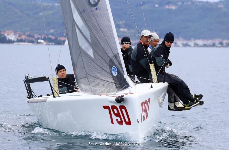 Estonian Lenny Scores Its First Victory in the European Series in Portoroz - photo © Andrea Carloni / IM24CA / ZGN