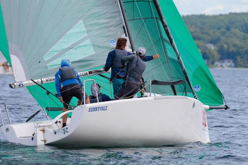 Fraser McMillan's Sunnyvale leads the Corinthian Division after two days of racing - 2019 Melges 24 North American Championship - photo © Bill Crawford - Harbor Pictures Company